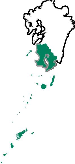 鹿児島白地図