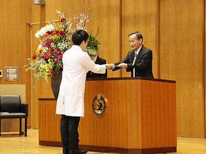 【ご案内】令和元年度医学部医学科Student Doctor認定証授与式