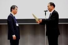 馬場昌範教授が日本エイズ学会賞「シミック賞」を受賞