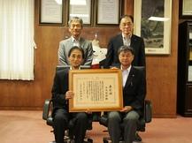 下川特任教授が平成29年防災功労者内閣総理大臣表彰を受賞