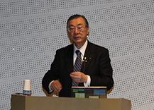 KDDI株式会社取締役会長 小野寺 正氏を講師に迎え講演会を開催しました