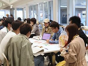 学生によるボランティア団体紹介会を開催