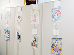 【開催中】漫画同好会による作品展「雨」のご案内(6/29まで)