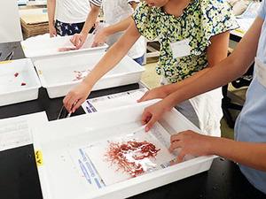 小学生が世界で一つだけの「海の森図鑑」を作成。連合農学研究科で公開講座を実施しました