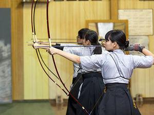 弓道部 東西学生弓道選抜対抗試合に九州代表として出場決定