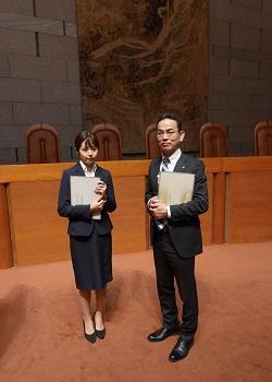 【法文学部】鹿大生、最高裁判事と懇談