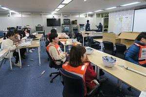 鹿児島市主催「桜島火山爆発総合防災訓練」に学生が参加