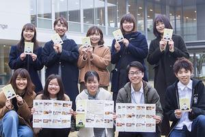【法文学部】鹿大生と地域をごはんでつなぐ!学生が「鹿児島大学周辺グルメマップ」を制作