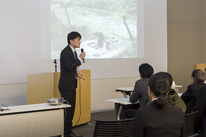 学生による「地域人材育成プラットフォーム」成果報告会を開催