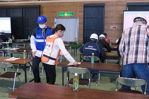 鹿児島市主催「桜島火山爆発総合防災訓練」に学生12名が参加