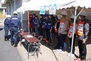 鹿児島市主催「桜島火山爆発総合防災訓練」に学生12名が参加(共通教育)