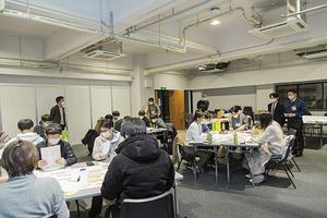 学生が描く20年後の鹿児島とは? 都市計画マスタープランワークショップを開催