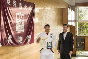 医学部の学生が柔道の「第17回KOBE自他共栄CUP」レポート部門で最優秀賞を受賞