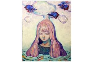 教育学部の学生が第39回南日本女流美術展で特選を受賞