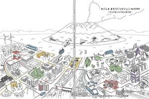 学生が描く20年後の都市像とは?「かごしままちづくりビジョンfor2040」報告書が完成