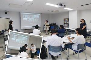 【国際】日本語・日本文化研修留学生(国費留学生)の修了発表会・修了式を開催