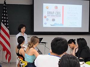UMAP-COIL JOINT HONORS PROGRAMの学生が鹿児島大学を訪問しました