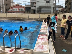 「小学校×大学×地域による防災訓練」を開催しました