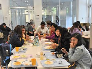 対日理解促進交流プログラムJENESYS2019の一環でインド大学生と交流