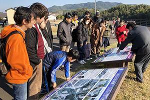 【法文学部】酒井研究室が荒田小おやじの会と多文化防災ツアーを実施
