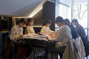 窯焼き本格ピザが楽しめる!稲盛記念館1階に「フードカフェKADAI」がOPEN!