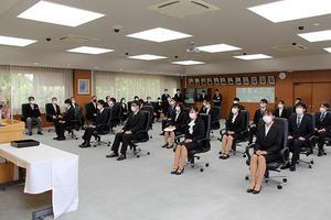 令和3年度入学式を挙行~ご入学おめでとうございます~