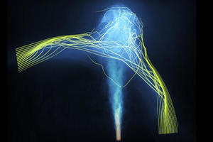 【理学部】直角に折れ曲がるジェットから銀河団の巨大な磁場を発見